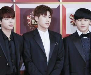 handsome, hoya, and woohyun image