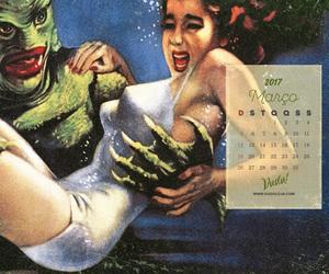 calendario, vuduloja, and pinup image