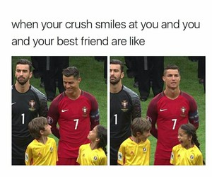 lol, crush, and funny image