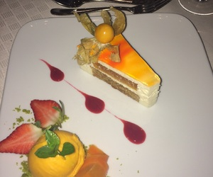 cake, carrot, and cheese image