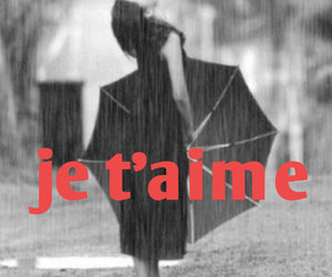 amour, love, and je t`aime image