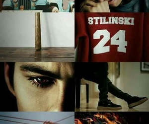 stiles and teen wolf image