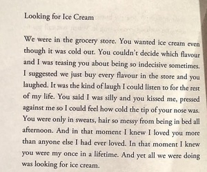 books, couples, and ice cream image