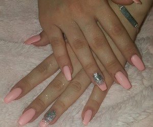 girly, style, and nails image