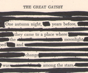 book, quotes, and the great gatsby image
