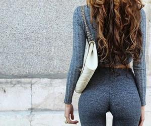 girl, nice ass, and sport image