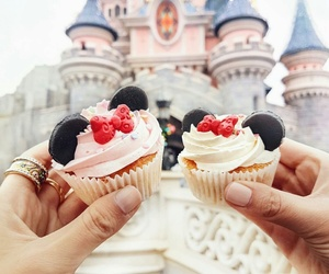 cupcake, disney, and food image