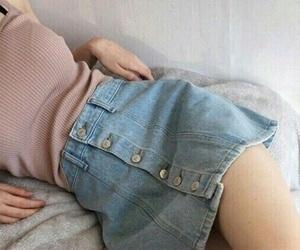 fashion, girls, and skirt image