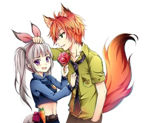 zootopia and anime image