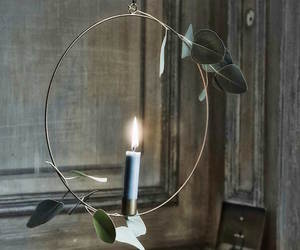 candle, decoration, and design image