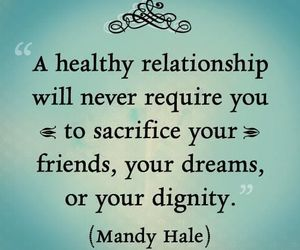 quote, Relationship, and friends image