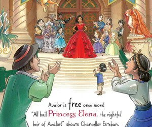 disney, disney princess, and elena of avalor image