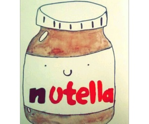 awesome, nutella, and paint image