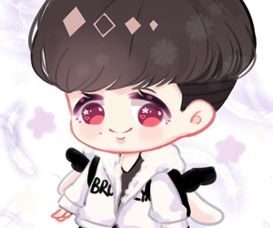 exo, fan art, and lay image