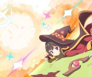 anime, konosuba, and girl image