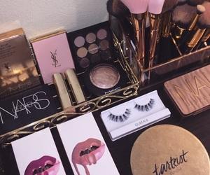makeup, nars, and kylie image