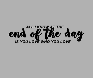 black and white, Lyrics, and end of the day image