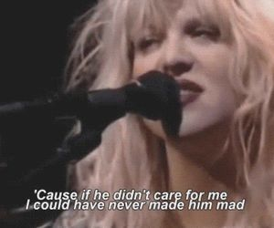 Courtney Love, hole, and qoute image