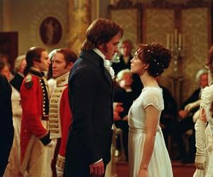 pride and prejudice, mr darcy, and elizabeth bennet image