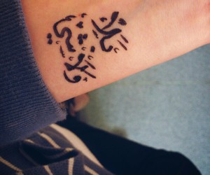 tattoo and arabic image