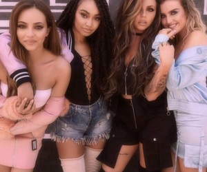 low quality, jesy nelson, and perrie edwards image