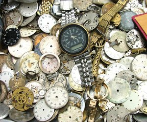 steampunk, watch, and clockworks image