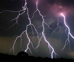 lightning and storm image