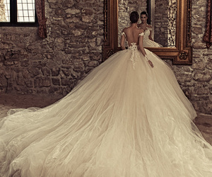 wedding dress, wedding, and julia kontogruni image