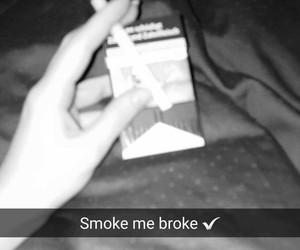 girl, marlboro, and zigaretten image