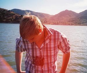 boy, camera, and nature image