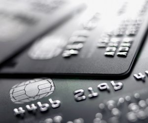 black and white, credit cards, and finance image