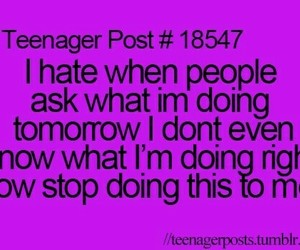 teenager post, tomorrow, and true image