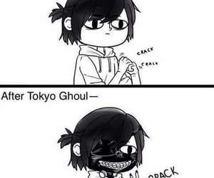 tokyo ghoul, anime, and funny image
