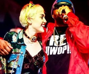 miley cyrus and mike will made it image