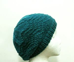 hat, beanies, and handmade hat image