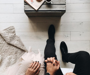 couple, coffee, and goals image