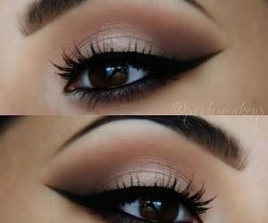 dark, makeup, and eyeliner image