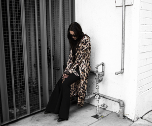 fashion blogger, leopard print, and street style image