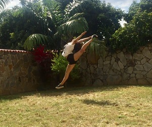 ballet, flexibility, and gym image