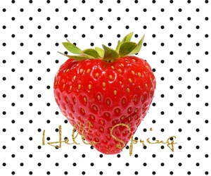 pattern, strawberry, and wallpaper image