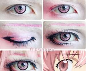 anime, cosplay, and eyeliner image