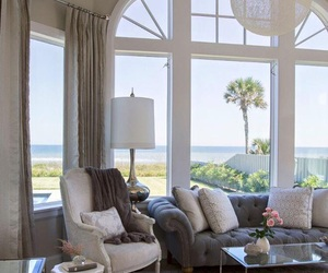 home, beach, and house image
