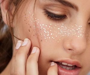 beauty, eyes, and freckles image