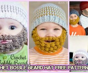 gift for him, crochet beard, and gift of boyfriend image