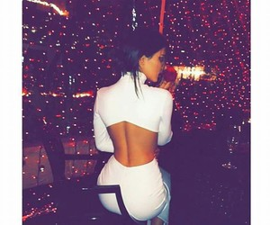 kendall jenner, dress, and white image