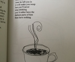 coffee, favorites, and milk and honey image
