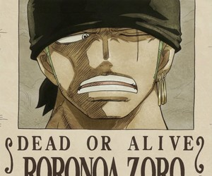 one piece, roronoa zoro, and mugiwara image