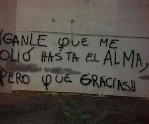 gracias, pain, and frases image