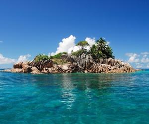 Island, beautiful, and nature image