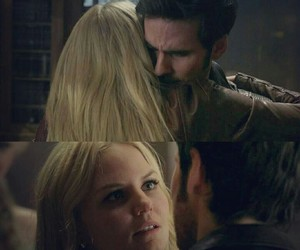 CS, captainswan, and once upon a time image